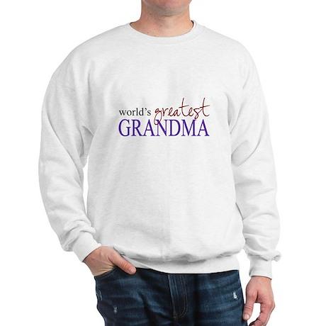 World's Greatest Grandma Sweatshirt