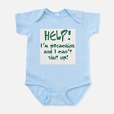 Help! I'm Preaching Infant Bodysuit