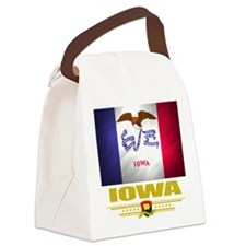 Iowa (Flag 10).png Canvas Lunch Bag
