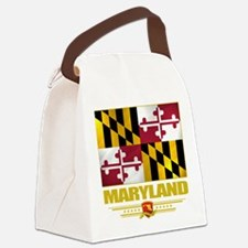 Maryland (Flag 10).png Canvas Lunch Bag