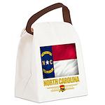 North Carolina (Flag 10).png Canvas Lunch Bag