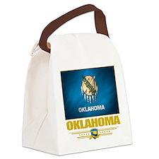 Oklahoma (Flag 10).png Canvas Lunch Bag