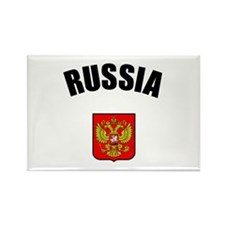 Russian Coat of Arms Rectangle Magnet