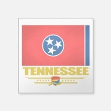"Tennessee (Flag 10).png Square Sticker 3"" x 3"""