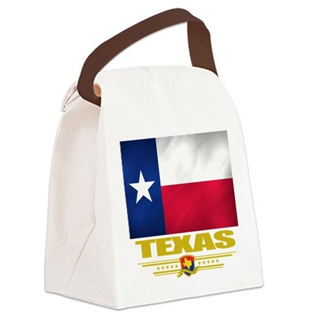 Texas (Flag 10).png Canvas Lunch Bag