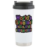 Worlds greatest facilities supervisor Travel Mugs
