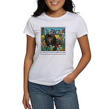 Shih Tzu Fine Art Hershey Bear Tee