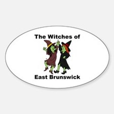 The Witches of East Brunswick Oval Decal