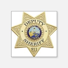 Florida Deputy Sheriff Rectangle Sticker