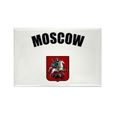 Moscow Coat of Arms Rectangle Magnet