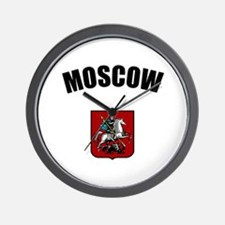 Moscow Coat of Arms Wall Clock