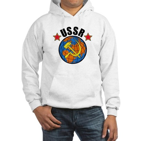 Soviet Union USSR Hooded Sweatshirt