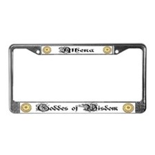 Athena License Plate Frame