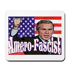 """Amero-Fascist"" Mousepad"