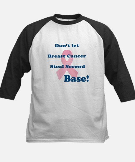 Don't let breast Cancer steal 2nd base Tee