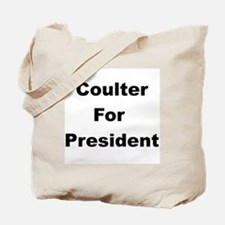 Coulter for President Tote Bag