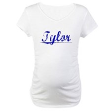 Tylor, Blue, Aged Shirt