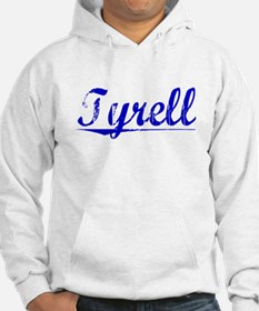 Tyrell, Blue, Aged Hoodie