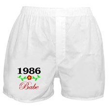 1986 Babe Boxer Shorts
