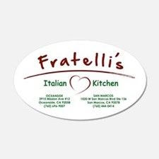 Fratellis Wall Decal