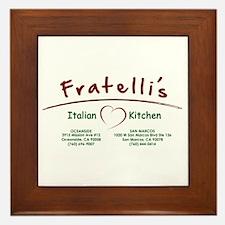 Fratellis Framed Tile