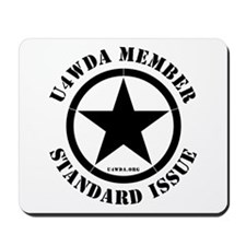 """""""Standard Issue"""" Mousepad"""
