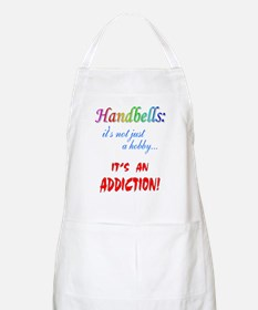 Handbell Addiction BBQ Apron