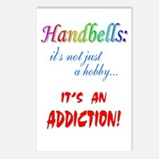 Handbell Addiction Postcards (Package of 8)