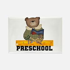 Bear Preschool Rectangle Magnet (10 pack)