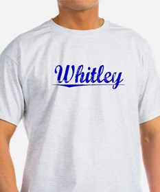 Whitley, Blue, Aged T-Shirt