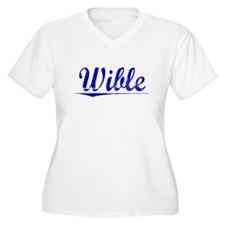 Wible, Blue, Aged T-Shirt