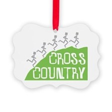 Cross Country Runners Ornament