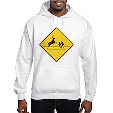 School & Deer Crossing Hoodie