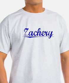 Zachery, Blue, Aged T-Shirt