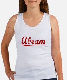 Abram, Vintage Red Women's Tank Top