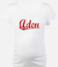 Aden, Vintage Red Shirt