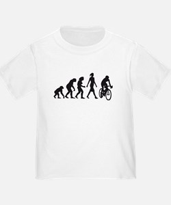 evolution female bicycle racer T