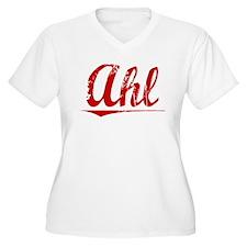 Ahl, Vintage Red T-Shirt