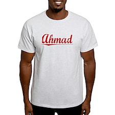 Ahmad, Vintage Red T-Shirt