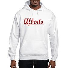 Alberto, Vintage Red Hoodie