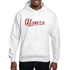 Alonzo, Vintage Red Hoodie