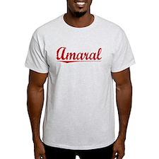 Amaral, Vintage Red T-Shirt