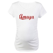 Amaya, Vintage Red Shirt