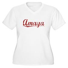 Amaya, Vintage Red T-Shirt