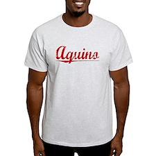 Aquino, Vintage Red T-Shirt