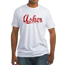 Asher, Vintage Red Shirt