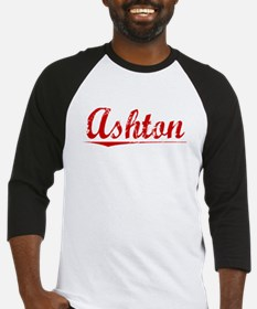 Ashton, Vintage Red Baseball Jersey