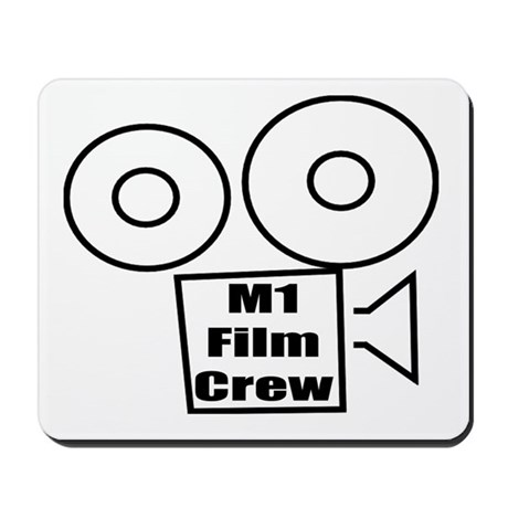 M1 Film Crew Mousepad