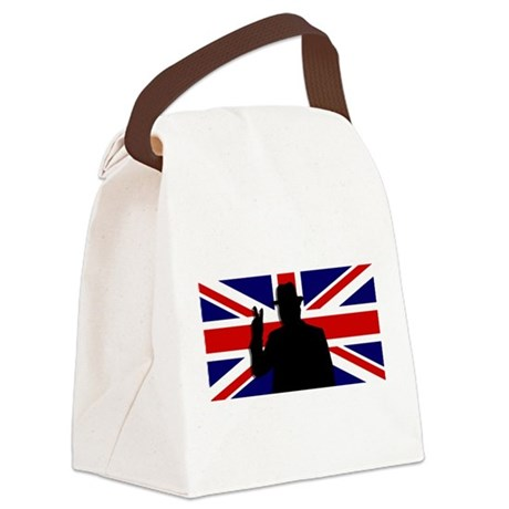 Winston Churchill Victory Canvas Lunch Bag