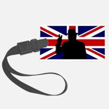 Winston Churchill Victory Luggage Tag
